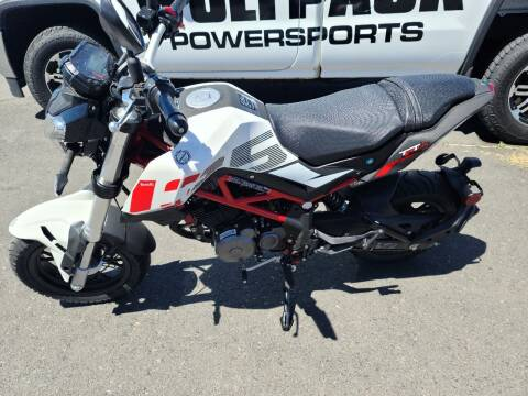 2021 Benelli Tnt135 for sale at WolfPack PowerSports in Moses Lake WA