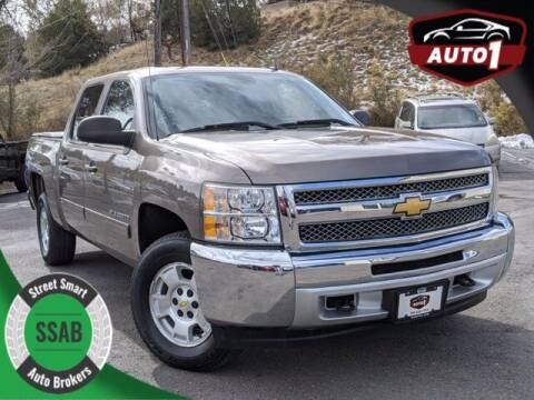 2013 Chevrolet Silverado 1500 for sale at Street Smart Auto Brokers in Colorado Springs CO