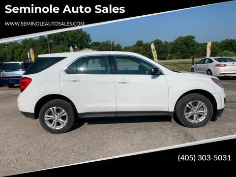 2014 Chevrolet Equinox for sale at Seminole Auto Sales in Seminole OK