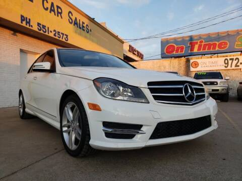 2014 Mercedes-Benz C-Class for sale at Best Royal Car Sales in Dallas TX