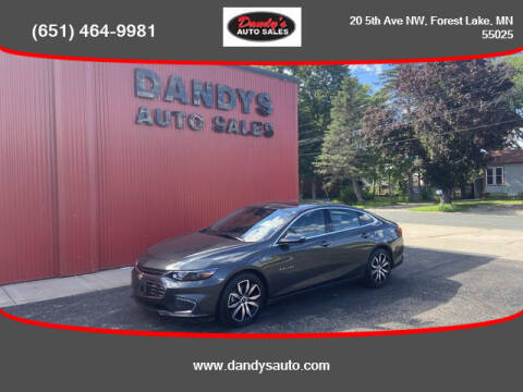 2017 Chevrolet Malibu for sale at Dandy's Auto Sales in Forest Lake MN
