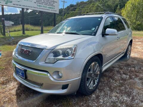 2012 GMC Acadia for sale at Court House Cars, LLC in Chillicothe OH