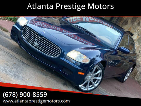 2006 Maserati Quattroporte for sale at Atlanta Prestige Motors in Decatur GA