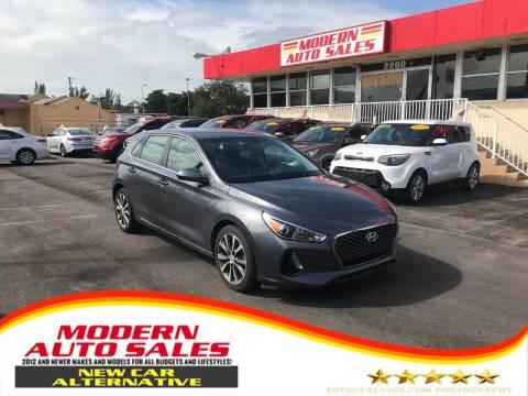 2018 Hyundai Elantra GT for sale at Modern Auto Sales in Hollywood FL