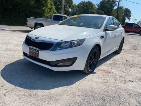 2013 Kia Optima for sale at Community Auto Sales & Service in Fayette MO