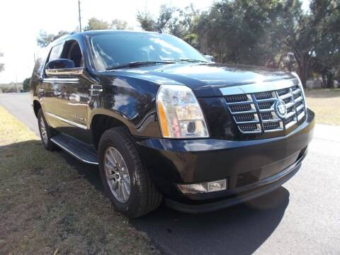 2007 Cadillac Escalade for sale at LANCASTER'S AUTO SALES INC in Fruitland Park FL