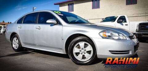2009 Chevrolet Impala for sale at Rahimi Automotive Group in Yuma AZ