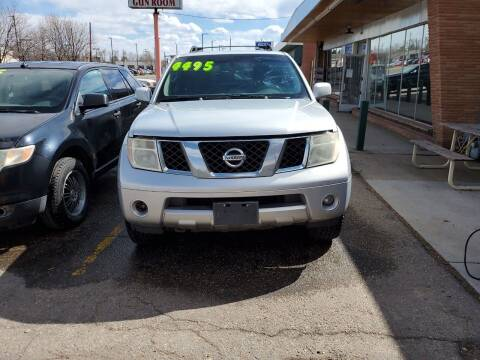 2007 Nissan Pathfinder for sale at Highbid Auto Sales & Service in Lakewood CO