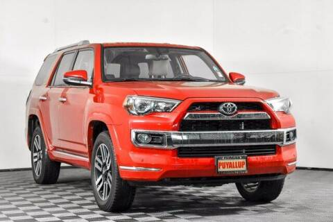 2018 Toyota 4Runner for sale at Washington Auto Credit in Puyallup WA