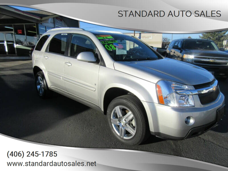 2008 Chevrolet Equinox for sale at Standard Auto Sales in Billings MT