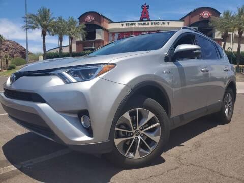 2018 Toyota RAV4 Hybrid for sale at Arizona Auto Resource in Tempe AZ