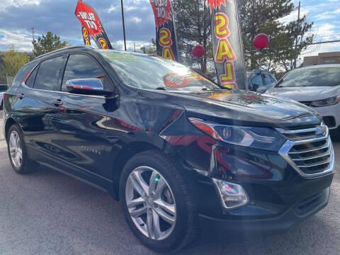 2018 Chevrolet Equinox for sale at Duke City Auto LLC in Gallup NM