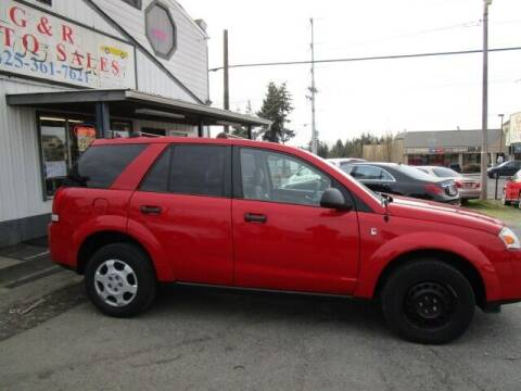 2006 Saturn Vue for sale at G&R Auto Sales in Lynnwood WA