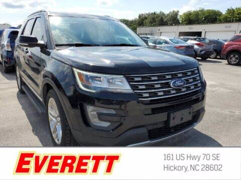 2017 Ford Explorer for sale at Everett Chevrolet Buick GMC in Hickory NC