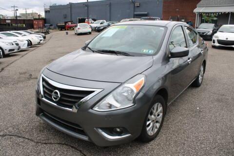2017 Nissan Versa for sale at EZ PASS AUTO SALES LLC in Philadelphia PA