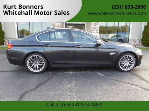 2011 BMW 5 Series for sale at Kurt Bonners Whitehall Motor Sales in Whitehall MI