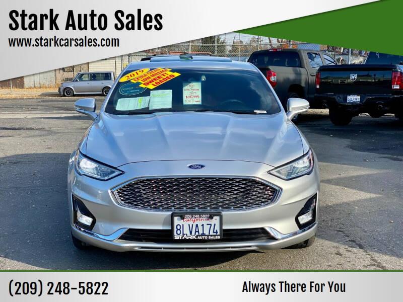 2019 Ford Fusion for sale at Stark Auto Sales in Modesto CA