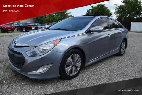 2015 Hyundai Sonata Hybrid for sale at American Auto Center in Austin TX