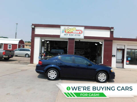 2014 Dodge Avenger for sale at Pork Chops Truck and Auto in Cheyenne WY