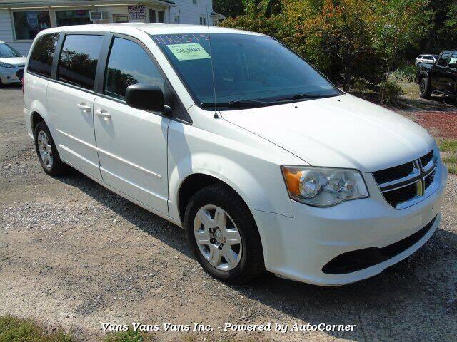 2012 Dodge Grand Caravan for sale at Vans Vans Vans INC in Blauvelt NY