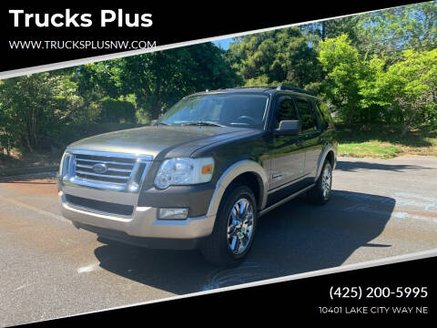 2008 Ford Explorer for sale at Trucks Plus in Seattle WA