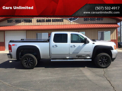 2013 GMC Sierra 2500HD for sale at Cars Unlimited in Marshall MN