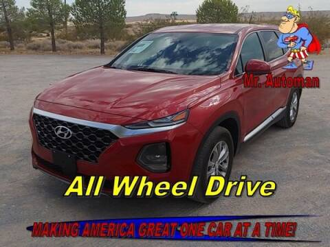 2020 Hyundai Santa Fe for sale at TOWN & COUNTRY AUTO SALES in Overton NV