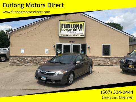 2011 Honda Civic for sale at Furlong Motors Direct in Faribault MN