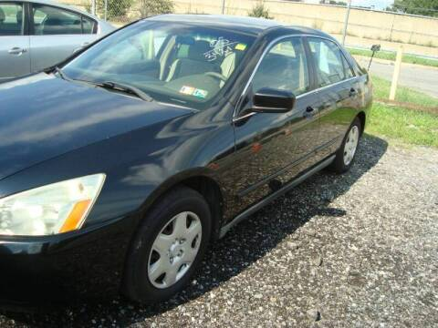 2005 Honda Accord for sale at Branch Avenue Auto Auction in Clinton MD