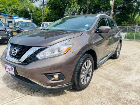 2017 Nissan Murano for sale at HOUSTON CAR SALES INC in Houston TX