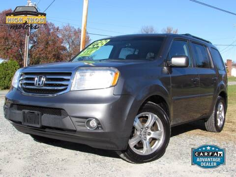 2013 Honda Pilot for sale at High-Thom Motors in Thomasville NC
