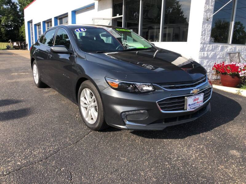 2018 Chevrolet Malibu for sale at Budget Auto in Appleton WI