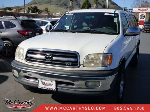 2002 Toyota Tundra for sale at McCarthy Wholesale in San Luis Obispo CA