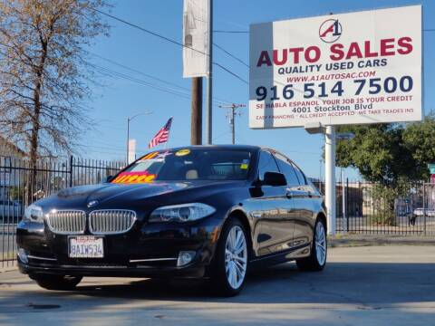 2011 BMW 5 Series for sale at A1 Auto Sales in Sacramento CA