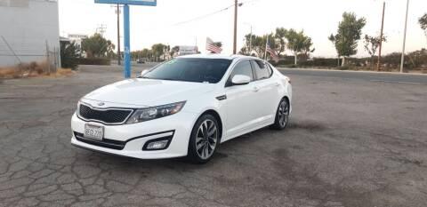 2015 Kia Optima for sale at Autosales Kingdom in Lancaster CA