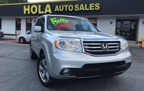 2012 Honda Pilot for sale at HOLA AUTO SALES CHAMBLEE- BUY HERE PAY HERE - in Atlanta GA