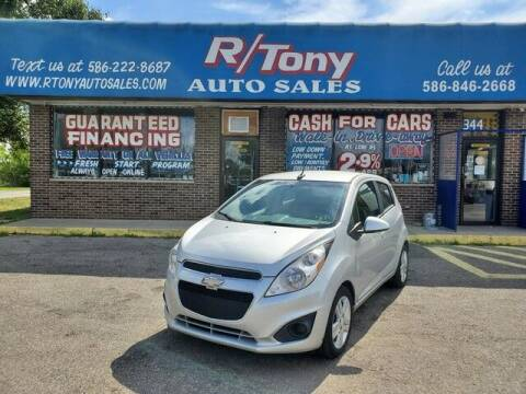 2014 Chevrolet Spark for sale at R Tony Auto Sales in Clinton Township MI