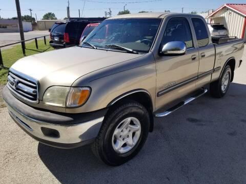 2002 Toyota Tundra for sale at Key City Motors in Abilene TX