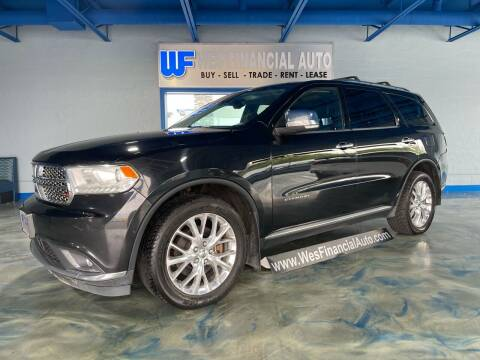 2014 Dodge Durango for sale at Wes Financial Auto in Dearborn Heights MI