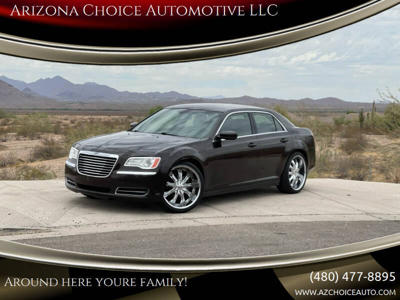 2013 Chrysler 300 for sale at Arizona Choice Automotive LLC in Mesa AZ