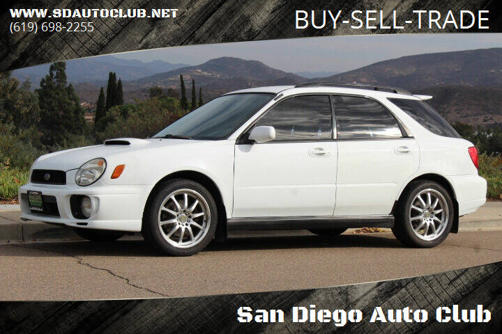 2002 Subaru Impreza for sale at San Diego Auto Club in Spring Valley CA