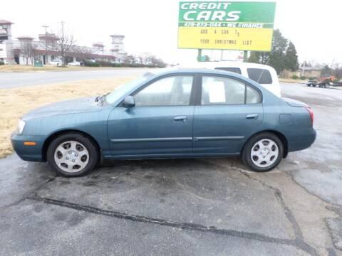 2002 Hyundai Elantra for sale at Credit Cars of NWA in Bentonville AR
