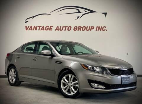 2013 Kia Optima for sale at Vantage Auto Group Inc in Fresno CA