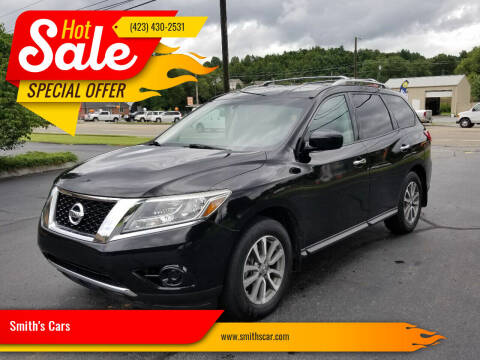 2013 Nissan Pathfinder for sale at Smith's Cars in Elizabethton TN