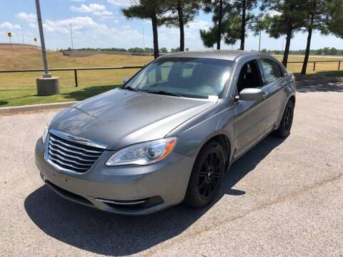 2012 Chrysler 200 for sale at Bad Credit Call Fadi in Dallas TX