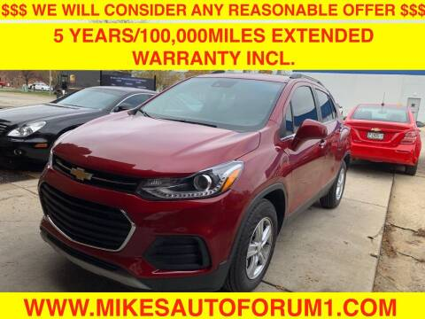 2018 Chevrolet Trax for sale at Mikes Auto Forum in Bensenville IL