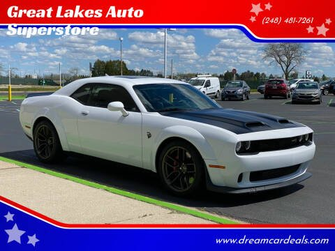 2019 Dodge Challenger for sale at Great Lakes Auto Superstore in Waterford Township MI