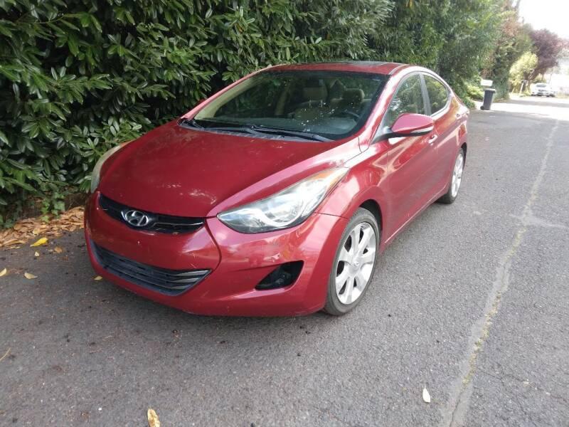 2012 Hyundai Elantra for sale at PDX Car People LLC in Milwaukie OR