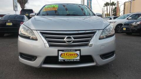 2014 Nissan Sentra for sale at El Guero Auto Sale in Hawthorne CA
