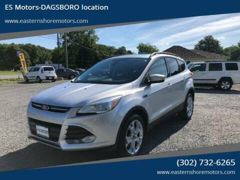 2013 Ford Escape for sale at ES Motors-DAGSBORO location in Dagsboro DE